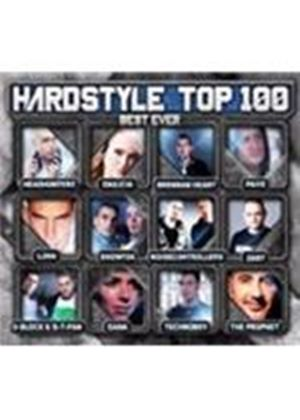 Various Artists - Hardstyle Top 100 Best Ever (Music CD)