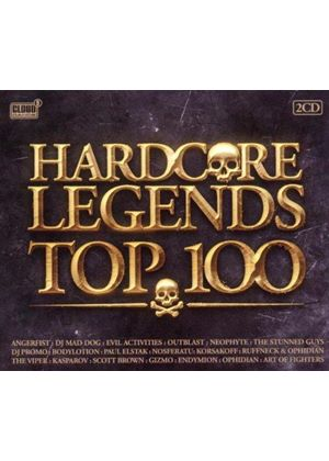 Various Artists - Hardcore Legends Top 100 (Music CD)