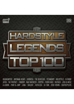Various Artists - Hardstyle Legends Top 100 (Music CD)
