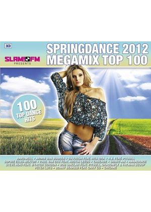 Various Artists - Springdance Megamix 2012 Top 100 (Music CD)