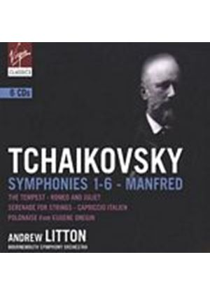 Pyotr Ilyich Tchaikovsky - Symphonies & Orchestral Works (Bournemouth SO, Litton) (Music CD)