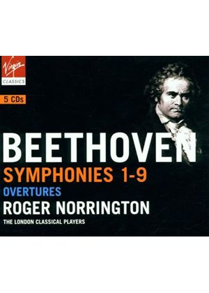 Ludwig Van Beethoven - Symphonies Nos. 1-9 (London Classical Players, Norrington) (Music CD)
