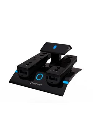 Konnet PowerV Duo Charger - Black (Wii)