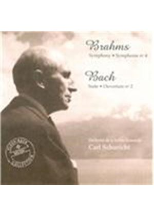 Brahms: Symphony No. 4; Bach: Orchestral Suite No. 2 (Music CD)