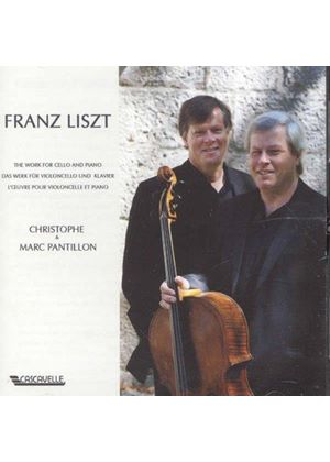 Franz Liszt: Works for Cello & Piano (Music CD)