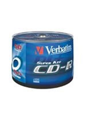 Verbatim DataLifePlus - 50 x CD-R - 700 MB 52x - wide printable surface - spindle - storage media