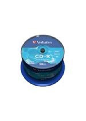Verbatim - 50 x CD-R - 700 MB ( 80min ) 52x - spindle - storage media