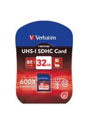 Verbatim 32GB Secure Digital UHS-I SDHC Card - Class 10