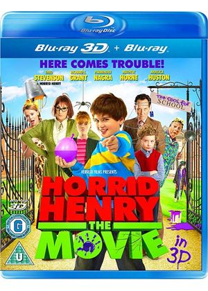 Horrid Henry: The Movie 3D (Blu-ray 3D)