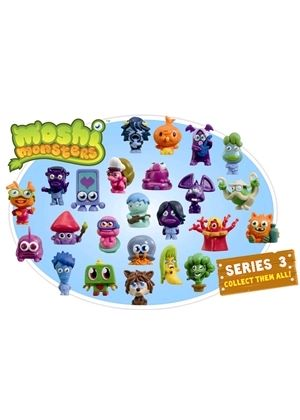 Moshi Monsters - Series 3 Moshling Value 10 Pack Figures