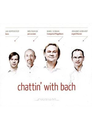 Daniel Schmahl - Chattin' With Bach (Music CD)
