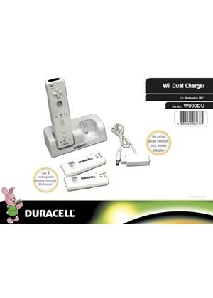 Duracell Charger - White (Wii)