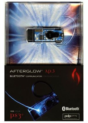 PDP Afterglow AP.3 Bluetooth Communicator - Blue (PS3)
