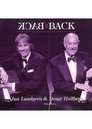 Bengt Hallberg - Back to Back (Music CD)
