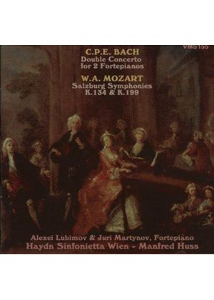 Bach, CPE: Double Concerto for 2 Pianos; Mozart: Symphonies Nos 21 & 27