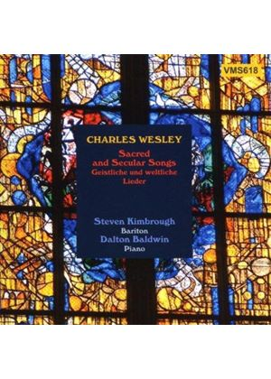 Wesley, C: Sacred and Secular Songs
