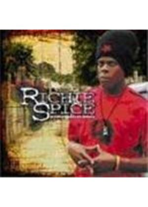 Richie Spice - In The Streets Of Africa (Music CD)
