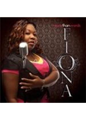 Fiona - More Than Words (Music CD)