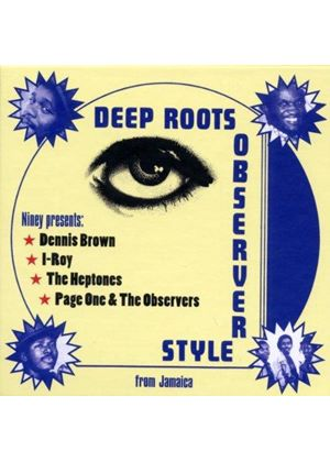 Various Artists - Niney the Observer Presents Deep Roots Observer Style (Music CD)