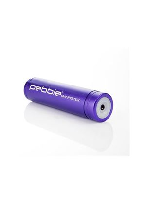 Veho VPP-002-SS Pebble Smartstick Purple Emergency portable battery back up power