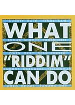 Various Artists - What One Riddim Can Do (Music CD)