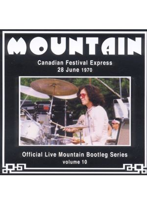Mountain - Official Live Bootleg Series: Canadian Festival Express 71 (Music CD)