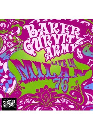 Baker Gurvitz Army - Live In Milan 1976 (Music CD)