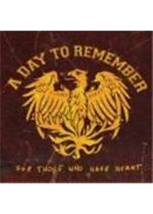 A Day To Remember - For Those Who Have Heart (Reissue + DVD)
