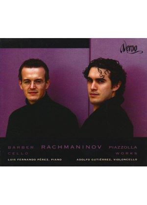Barber; Piazzolla; Rachmaninov: Cello Works