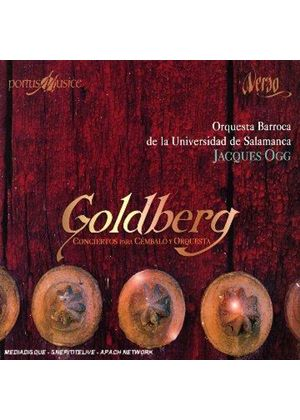 Johann Gottlieb Goldberg - Concertos For Keyboard And Orchestra (Ogg)