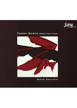Tomas Marco - Works For Piano (Escalante)