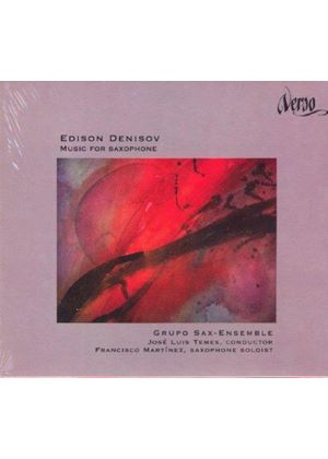 Edison Denisov - Music For Saxophone (Temez, Grupo Sax Ensemble)
