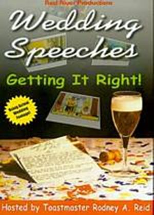 Wedding Speeches - Getting It Right