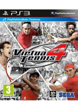 Virtua Tennis 4 (Move Compatible) (PS3)