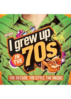 Various Artists - I Grew Up in the 70s (Music CD)