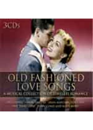 Various Artists - Old Fashioned Love Songs (3 CD) (Music CD)