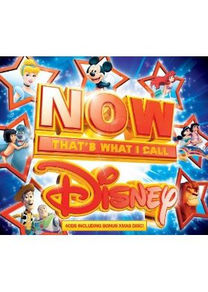 Various Artists - Now That's What I Call Disney (4 CD Box Set) (Music CD)