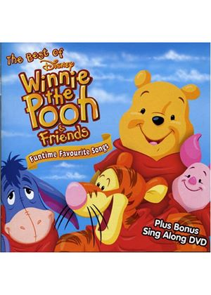 Various Artists - Best Of Winnie The Pooh And Friends [CD + DVD] (Music CD)