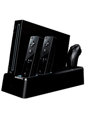 Duracell Charging Stand - Black (Wii)