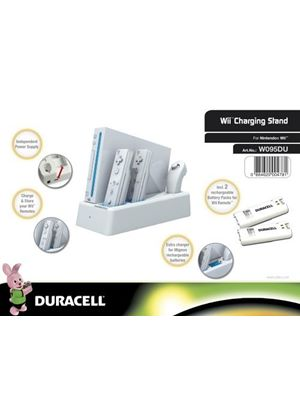 Duracell Charging Stand - White (Wii)