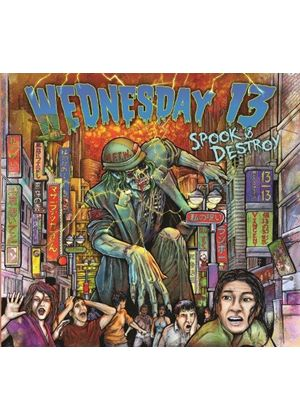 Wednesday 13 - Spook & Destroy (Music CD)