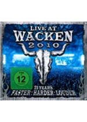 Various Artists - Live At Wacken 2010 (21 Years  Faster, Harder, Louder/Live Recording/+DVD)