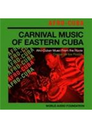 Congo De Los Hyos - Afro-Cuba - Carnival Music Of Eastern Cuba (World Audio Foundation Presents) (Music CD)