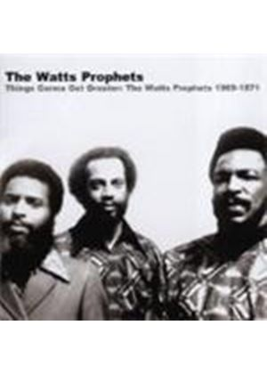 Watts Prophets - Things Gonna Get Greater (Music Cd)