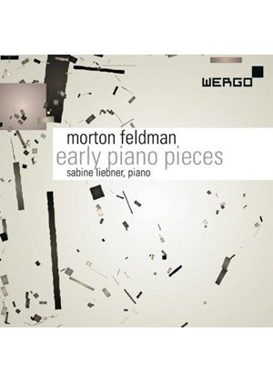 Morton Feldman: Early Piano Pieces (Music CD)