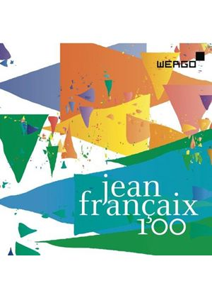 Jean Françaix 100 (Music CD)