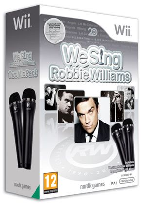 We Sing: Robbie Williams (with 2 Microphones) (Wii)