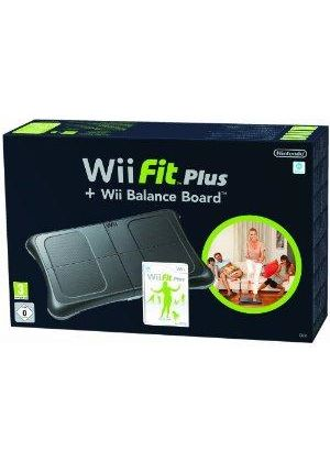 Wii Fit Plus & Wii Balance Board Bundle - Black (Wii)