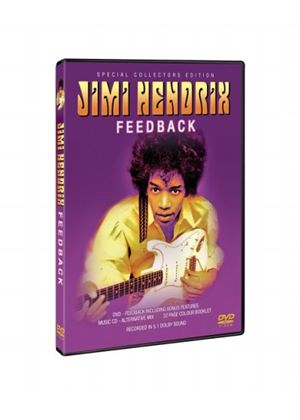 Jimi Hendrix - Feedback (Special Collectors Edition) (DVD, CD And Booklet)