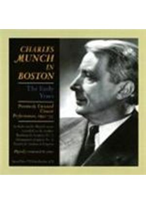 VARIOUS COMPOSERS - Charles Munch In Boston (Boston SO)